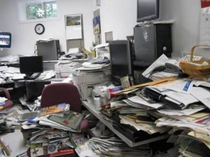 The secret to managing paper clutter